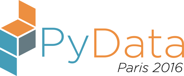 PyData Paris 2016 logo